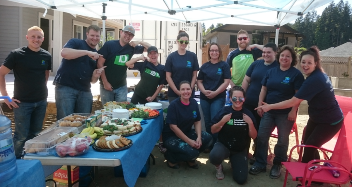 TD Canada Trust Team Build Day - Habitat For Humanity